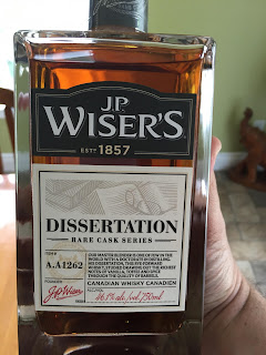 Wiser's Dissertation Canadian Whisky