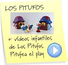 videos infantiles de los pitufos