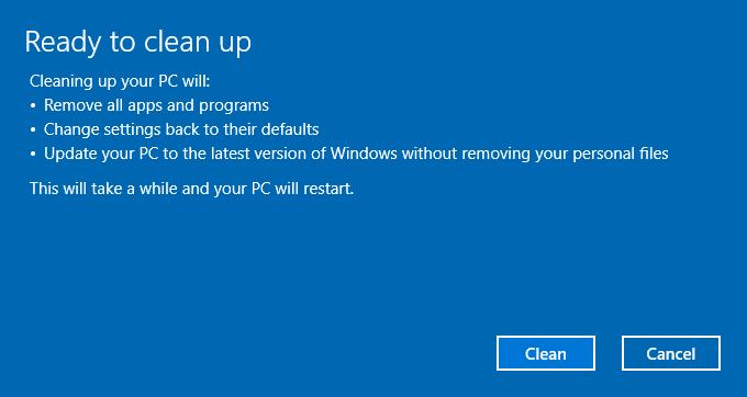Windows 10 CU ha un Tool per Pulire e Aggiornare il PC al tempo stesso 2 HTNovo