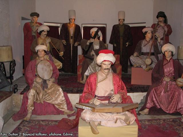 Selçuklu ve Osmanlı kültüründe müzikle tedavi