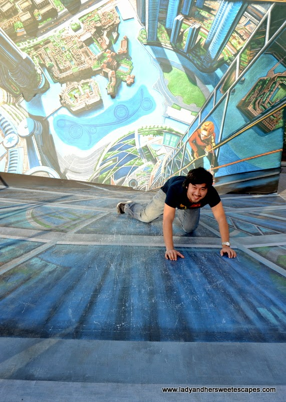 Burj Khalifa 3D art in Dubai Canvas
