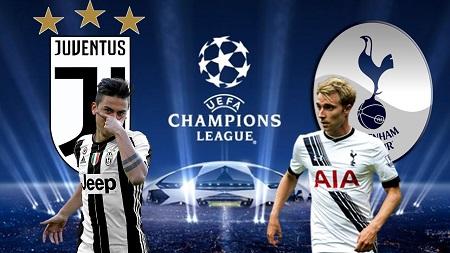 Assistir Juventus x Tottenham ao vivo 13/02/2018