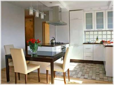 konsep desain dapur dan ruang makan