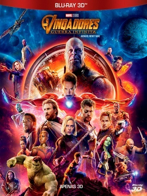 Vingadores - Guerra Infinita HSBS 3D Filmes Torrent Download capa