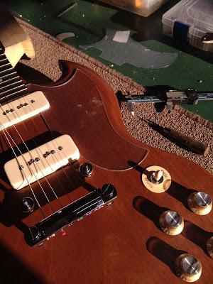 Gibson SG Naked P-90 ピックガード