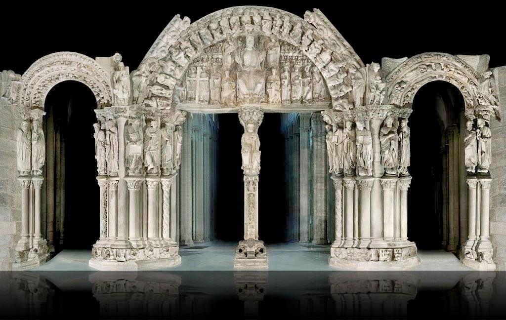 De lo posible se sabe demasiado una orquesta medieval for Disegni del portico laterale