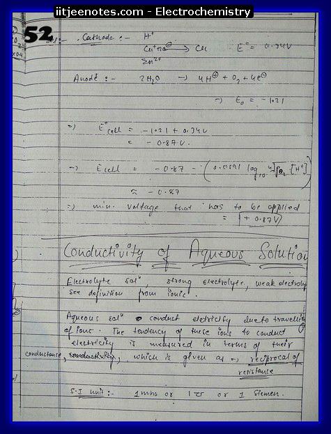 Electrochemistry chemistry7