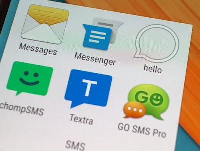 how to change default message app on galaxy note 1