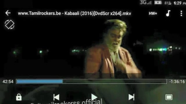 Rajinikanth Introduction Scene In Kabali Leaked Online