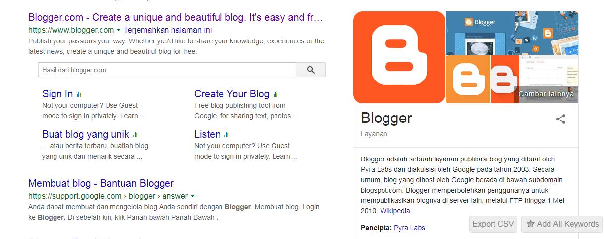 Semua Bisa Punya Blog