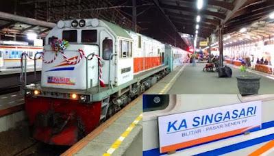 Jadwal Kereta Api Singasarai Terbaru