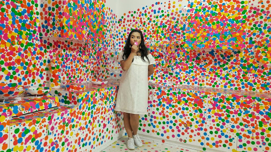 Museum MACAN : Life is the Heart of a Rainbow (Yayoi Kusama)