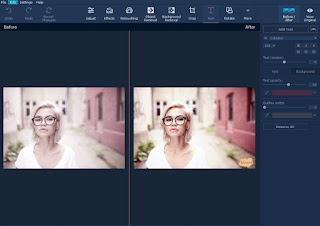Suppression des imperfections avec Movavi Photo Editor