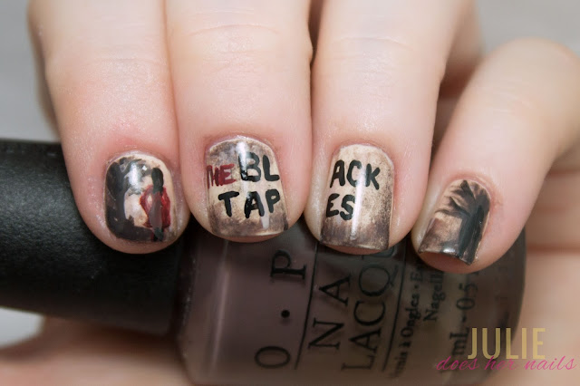 The Black Tapes Podcast Nail Art