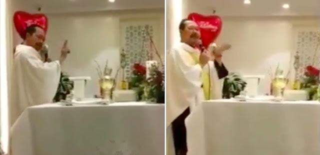 Viral! Video Pendeta Arahkan Jemaat Gereja Pilih 1, Tidak Sah Pilih 2