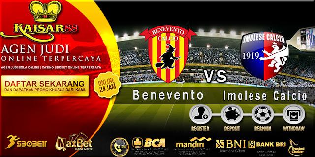 Prediksi Bola Jitu Benevento vs Imolese Calcio 6 Agustus 2018