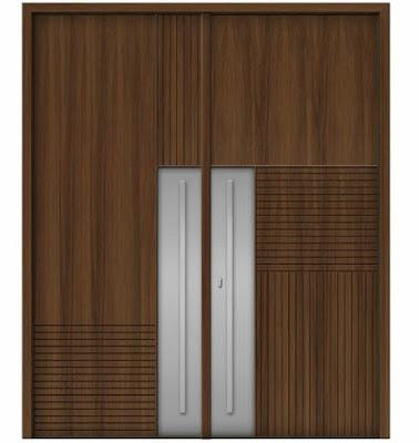 model pintu aluminium minimalis modern terbaru