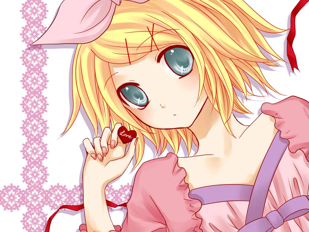 Vocaloid Wallpaper Rin [Vocaloid] Kaga...