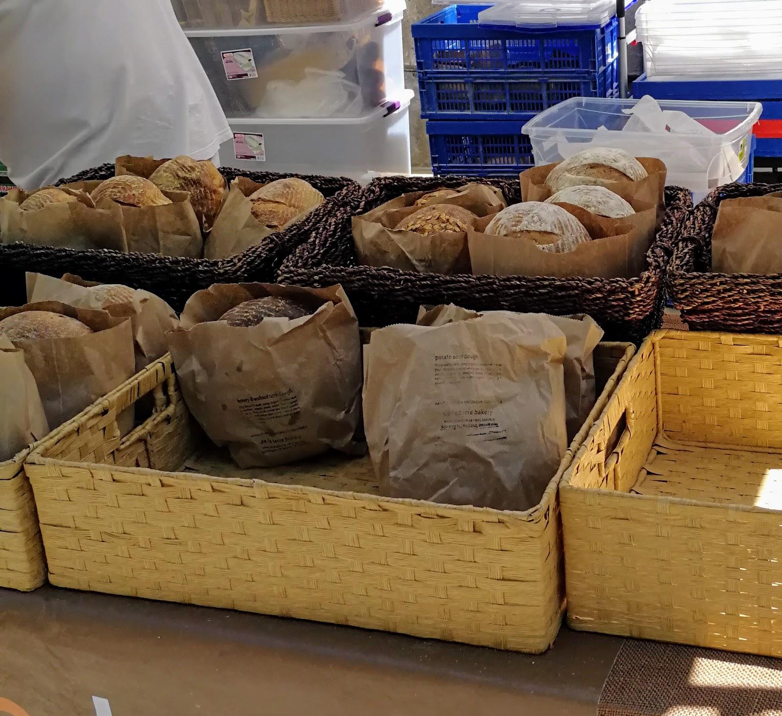 Toronto Farmers Market, healthy bread, fresh bread