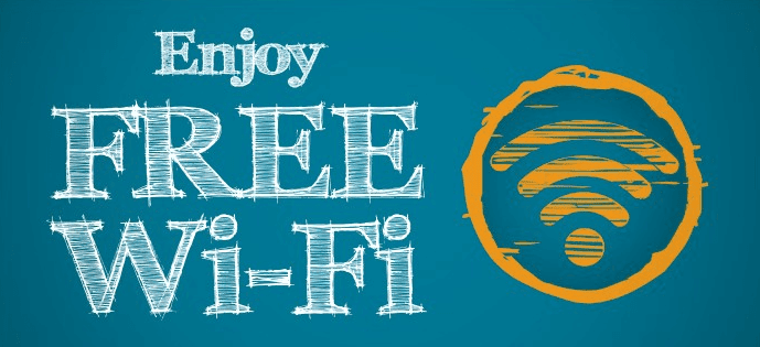 how to get free wifi internet at home