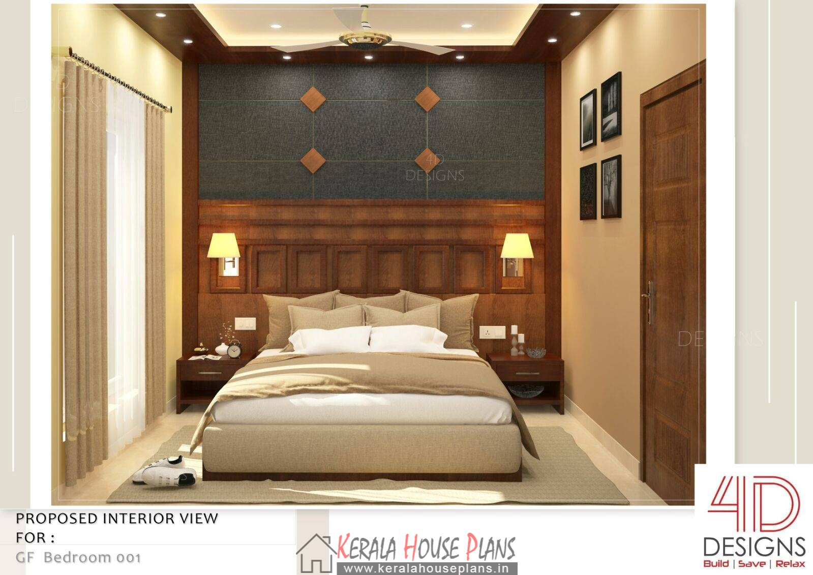 Kerala Bed room Interior Design photos