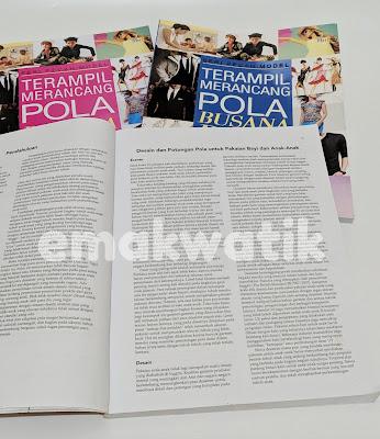 REVIEW BUKU JAHIT SERI PECAH MODEL TERAMPIL MERANCANG POLA BUSANA