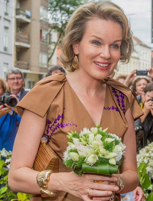 King Philippe and Queen Mathilde visits exhibition of  'The Birth of Capitalism - The Golden age of Flanders' in Ghent.