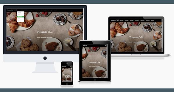 Landing page para Blogger – Template Café