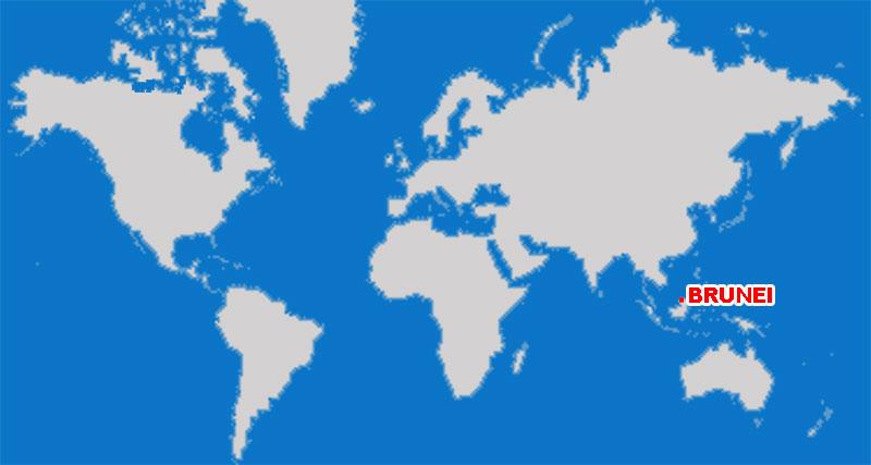 image: Brunei Map Location