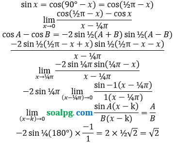 bahas limit pi