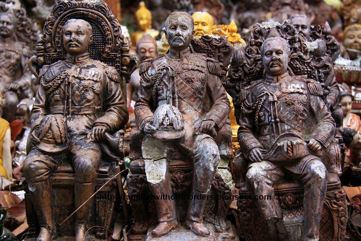 figurines of King Rama V