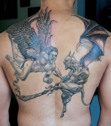 FREE TATTOO PICTURES: Devil Tattoos, Designs, Pictures