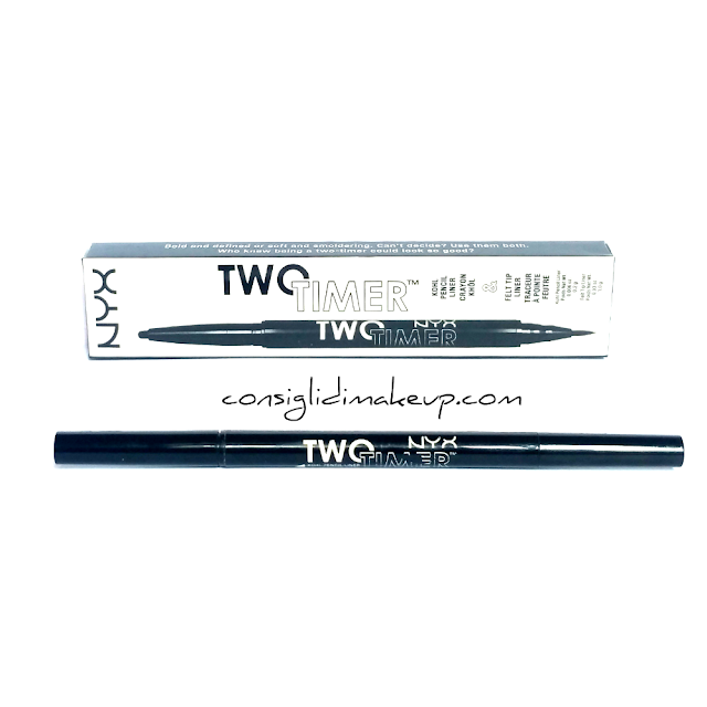 Review: Two Timer Dual Ended Eyeliner - Nyx Cosmetics