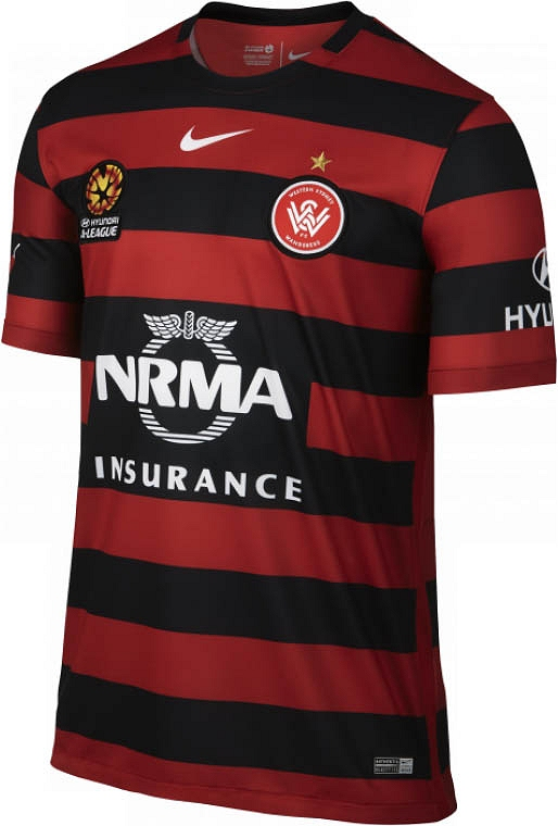 374b85048bdb2 Nike lança novas camisas do Western Sydney Wanderers - Testando Novo ...