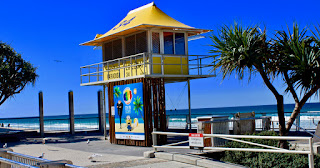 Lifeguard Tower Surfers Paradise Beach