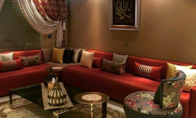 Salon Sejour Marocain Moderne