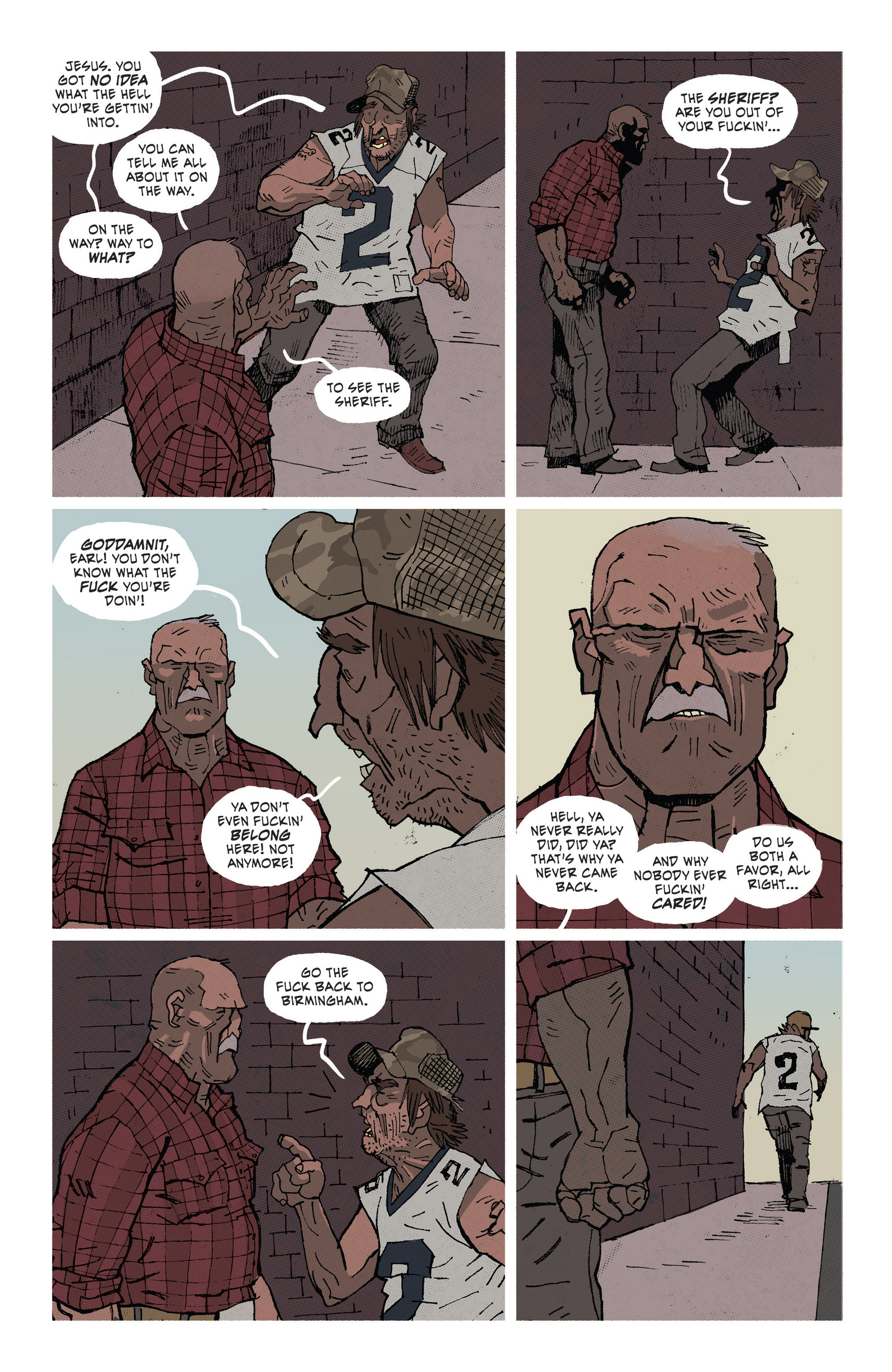 Read online Southern Bastards comic -  Issue #1 - 20