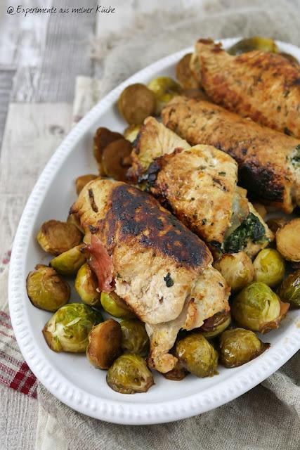 Putenröllchen mit Spinat | Rezept | Kochen | Essen | Weight Watchers
