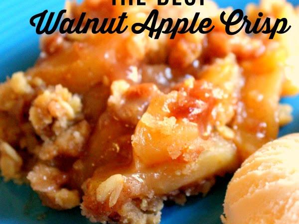 Walnut Apple Crisp