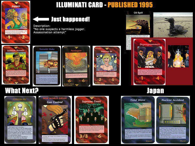 jeu de carte illuminati Les Agents Sans Secret: CURIEUSE COÏNCIDENCE DE L'ATTENTAT DE