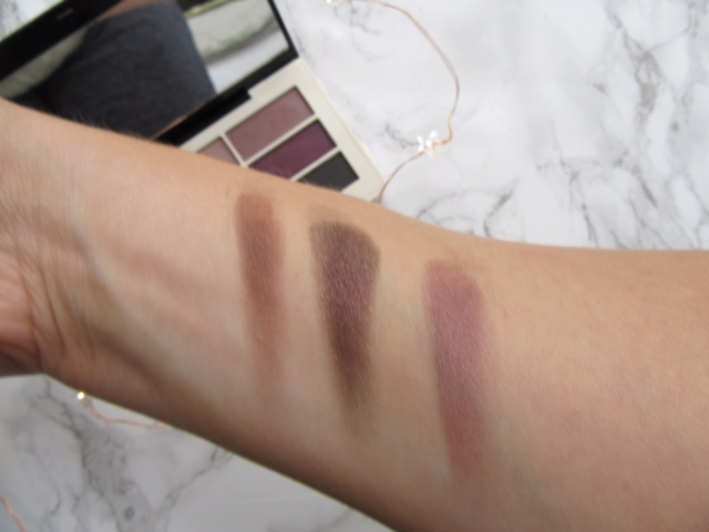 H&M Eyeshadow Aubergine Dream Swatched