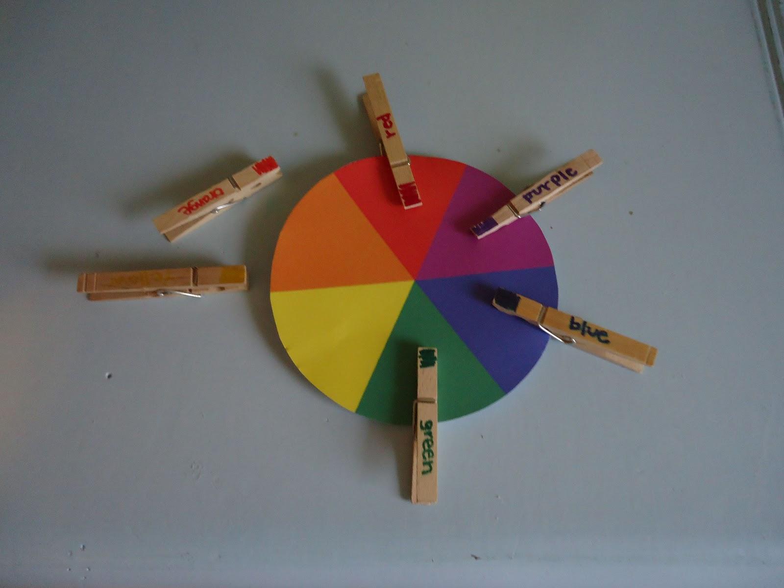 My Good Friend S Blog Preschool Lesson Plan Colors