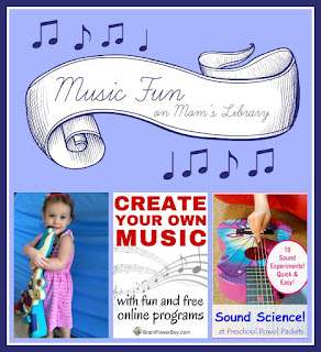 Music Fun at Mom's Library