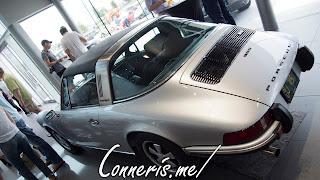 Porsche 911S Targa Rear Angle