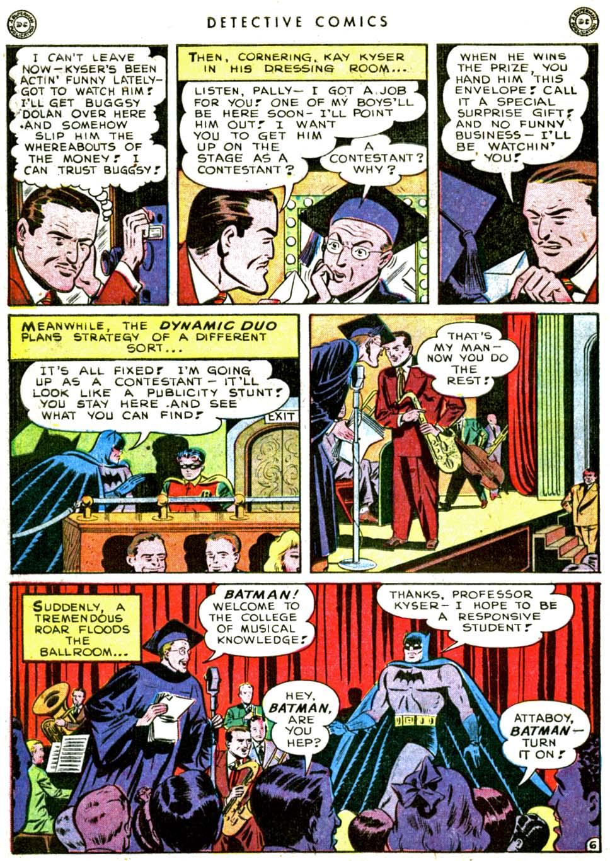 Read online Detective Comics (1937) comic -  Issue #144 - 8