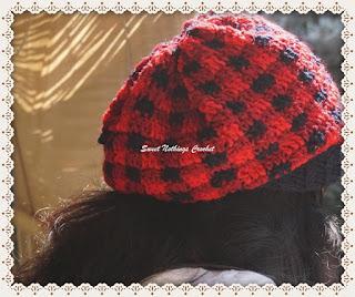crochet plaid neckwear