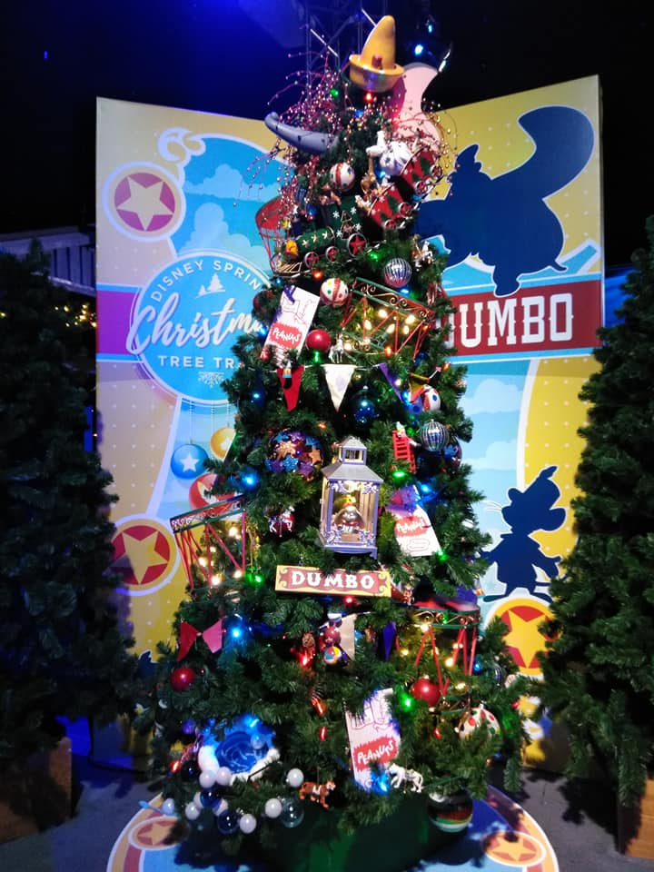 Pixie Dust Required 2017 Disney Springs Christmas Tree Trail