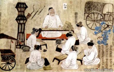 Lời dạy của Đức Khổng Tử: Câu chuyện mượn ô dù