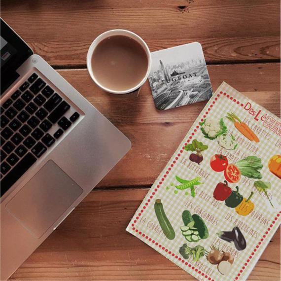 vocabulaire, les légumes, infographie, FLE, Le FLE en un 'clic'