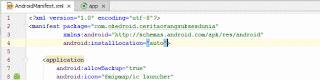 Android Manifest.xml